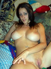 Tender girlfriend shows her huge..