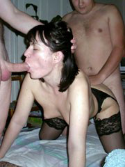 Amateur group sex parties. Awesome FFM..