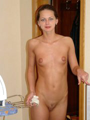Beautiful skinny russian wife and her..