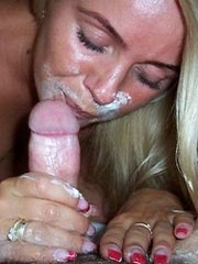 Depraved blonde wife on awesome hot..