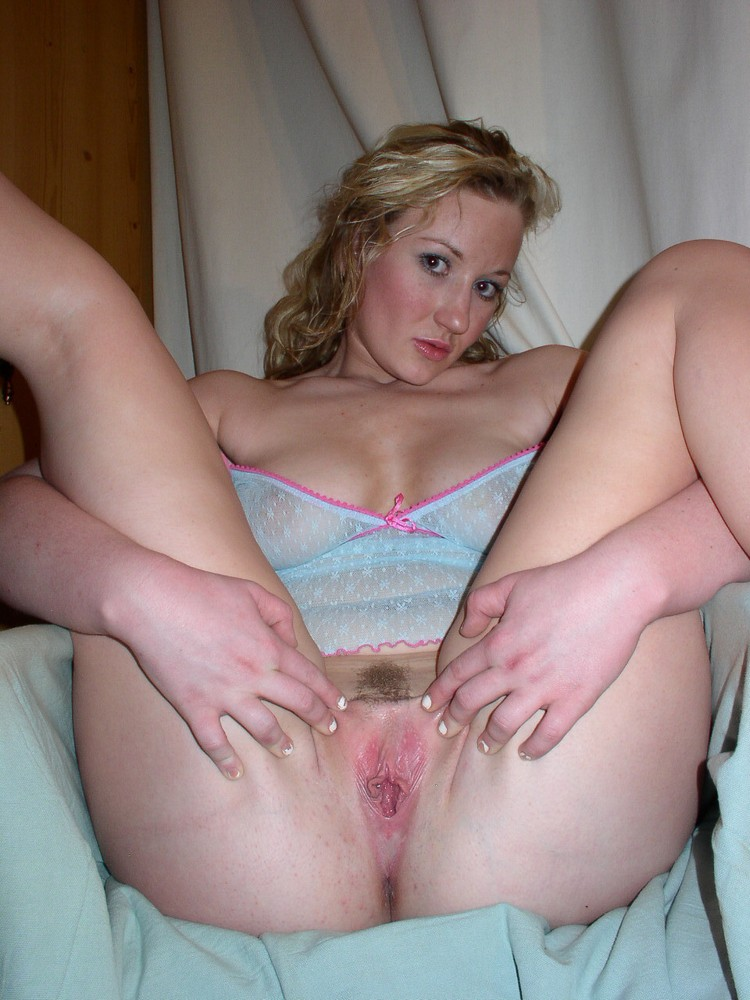 showing labia nude gf