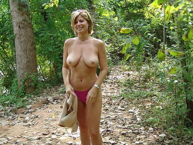 mature natural breast thumbs