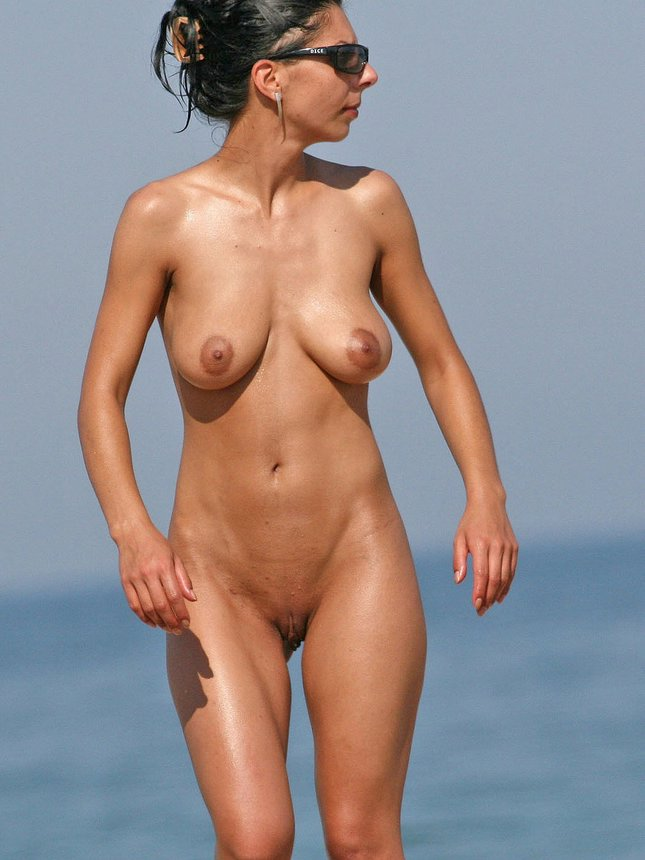 Remarkable, the mature topless beach photo