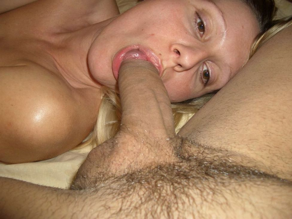 Mature wife gets huge cock