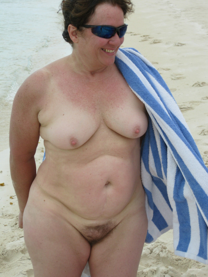 the nudist beach mature on pics thick