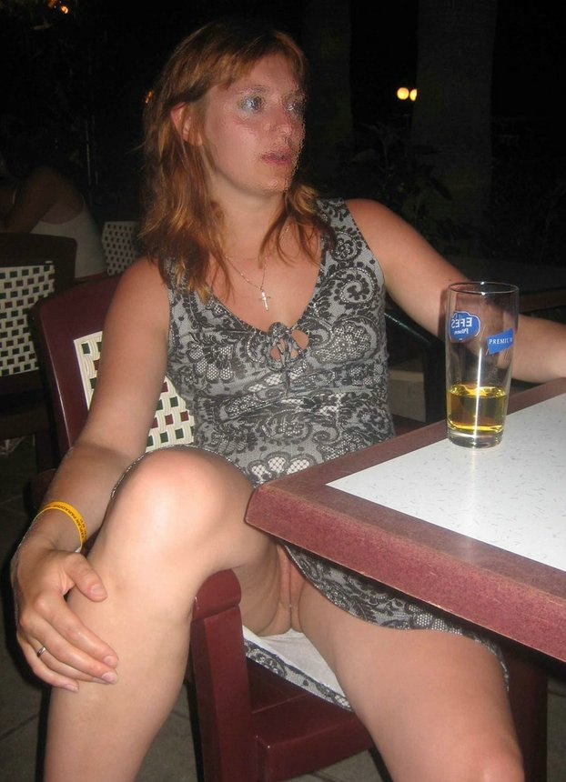 Amateur public upskirt no panties that