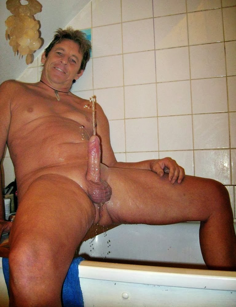 Naked old mature cock