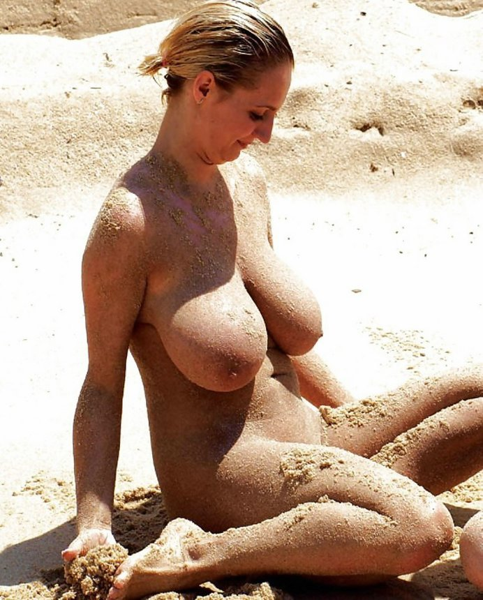 women with big natural tits going wild naked outdoors and at home