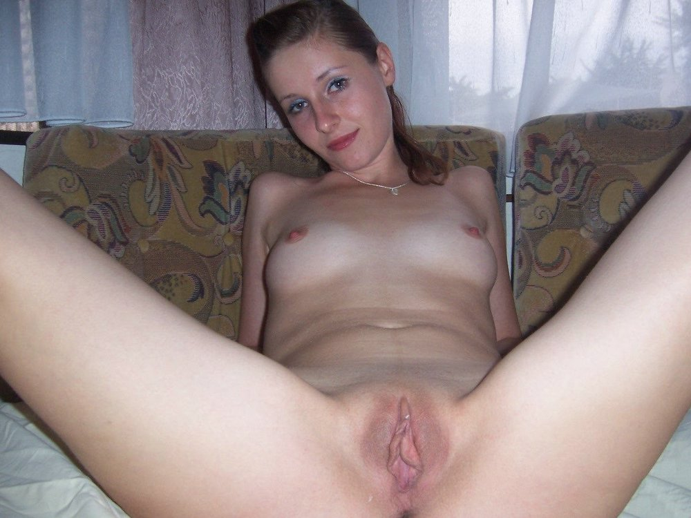 naked girl spreading legs wide