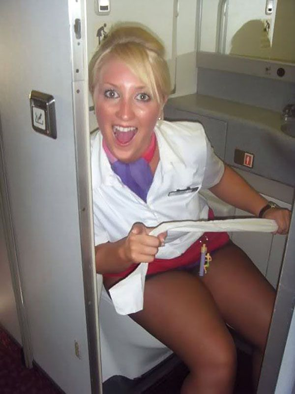 Big Ass Mature Stewardesses Turn Up Their Skirts And