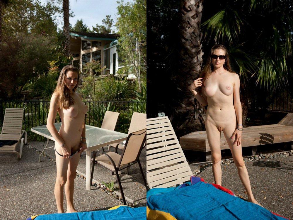 Ex girlfriend posing nude