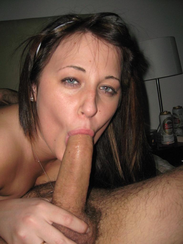 Amateur slave gf sucks and deepthroat big dick really hot 10