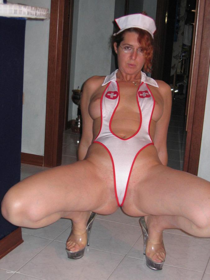 amateur sexy nurse outfit
