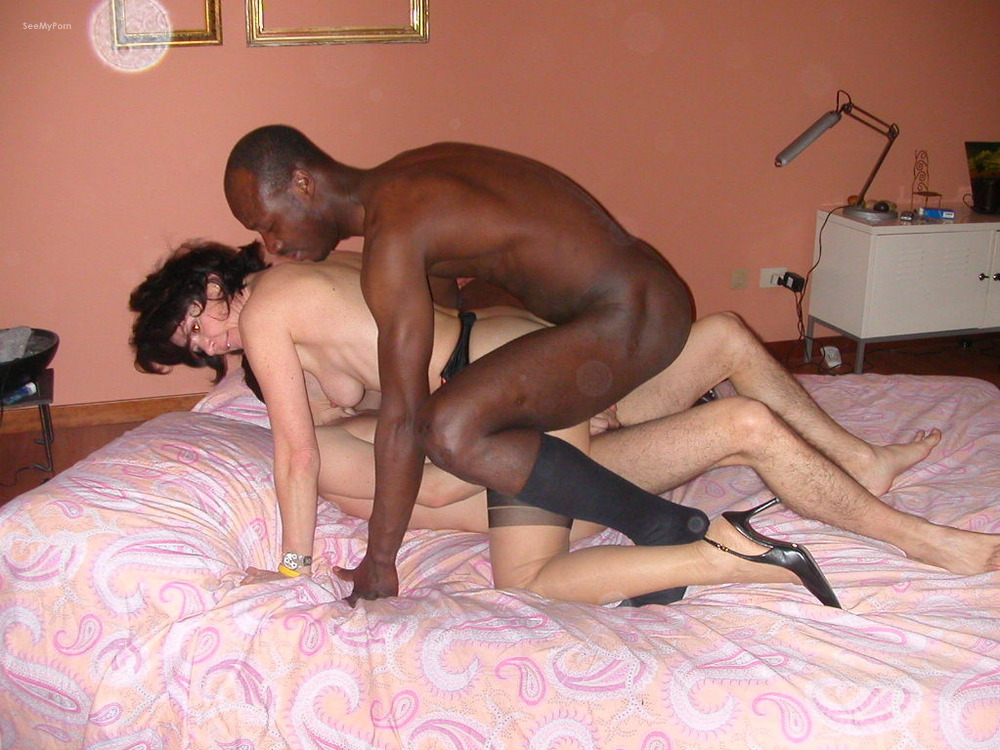 Homade interracial mature porn