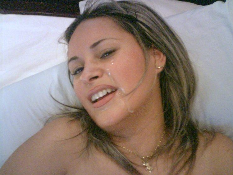 image Cute young wife sucks husbands friends