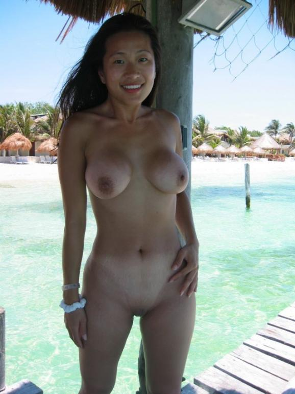 Perfect asain shaved pussy est