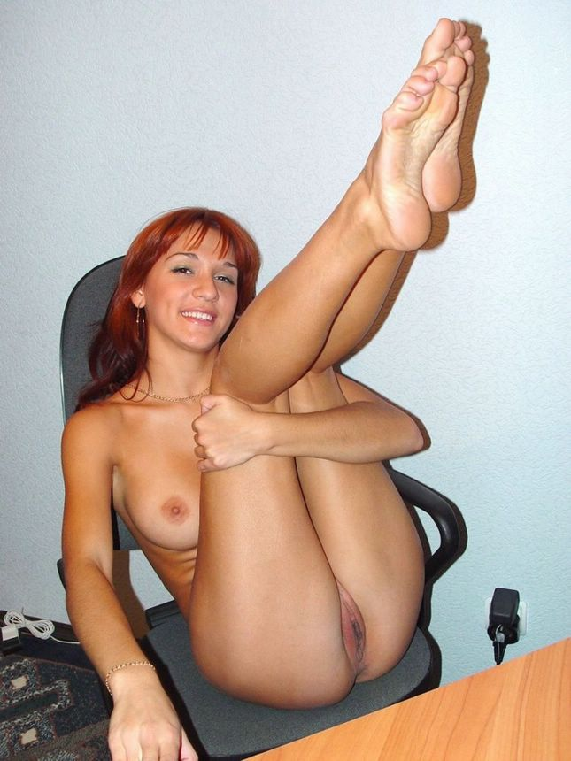 Amateur naked at work possible