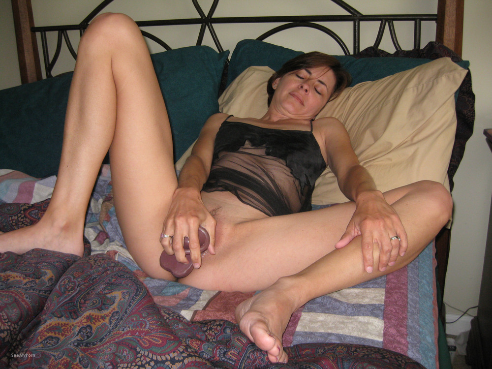 Amateur mature wife masturbing opinion