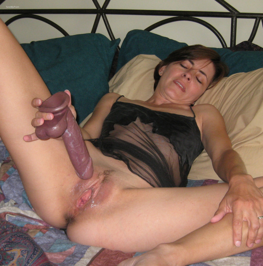 Cock eating milf