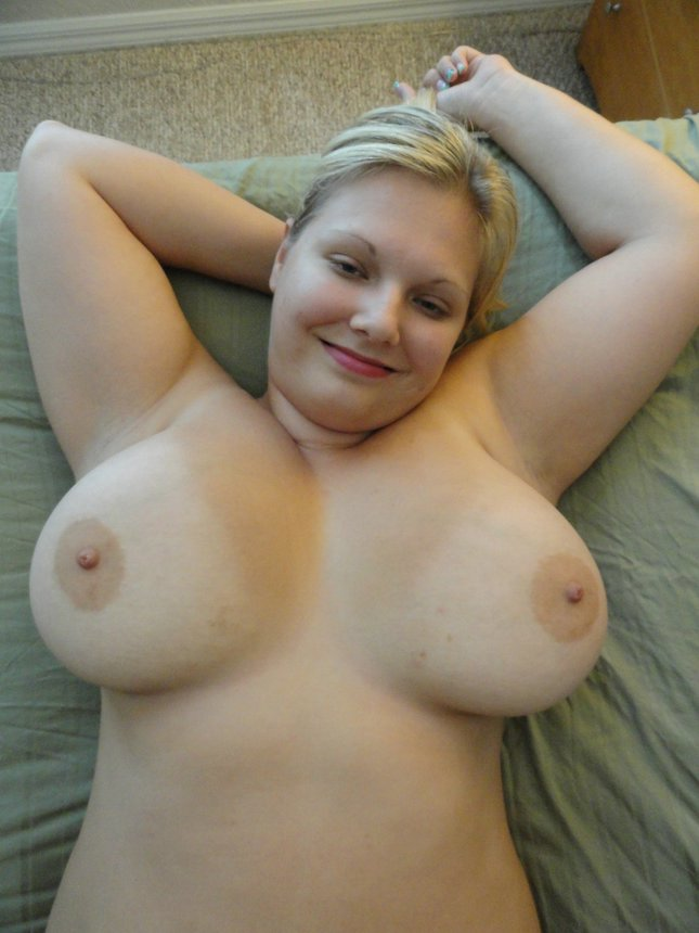 Blonde wives natural nude
