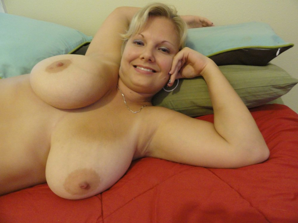 Natural mature tits
