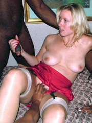 Hot cuckold interracial amateur sex,..
