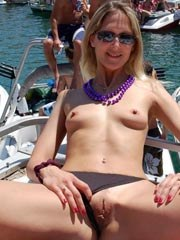 Small chested wife with puffy nipples..