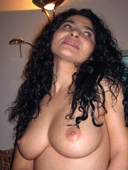 Busty latin wife shows her breasts and..