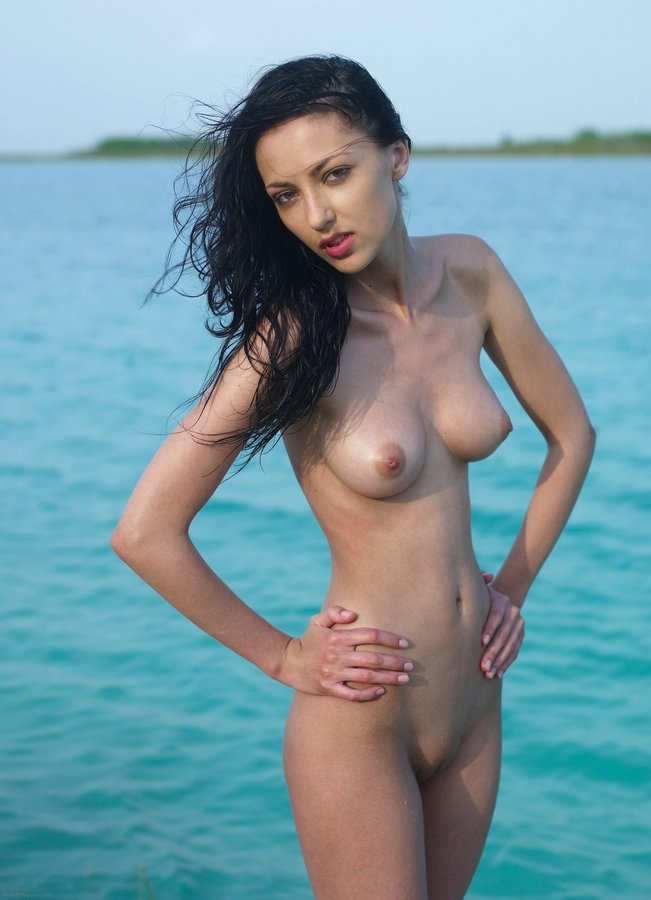 Nude babes on the beach