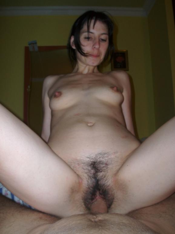 Sexy Hairy Wife Sucks Cock And Gets Fucked-4672