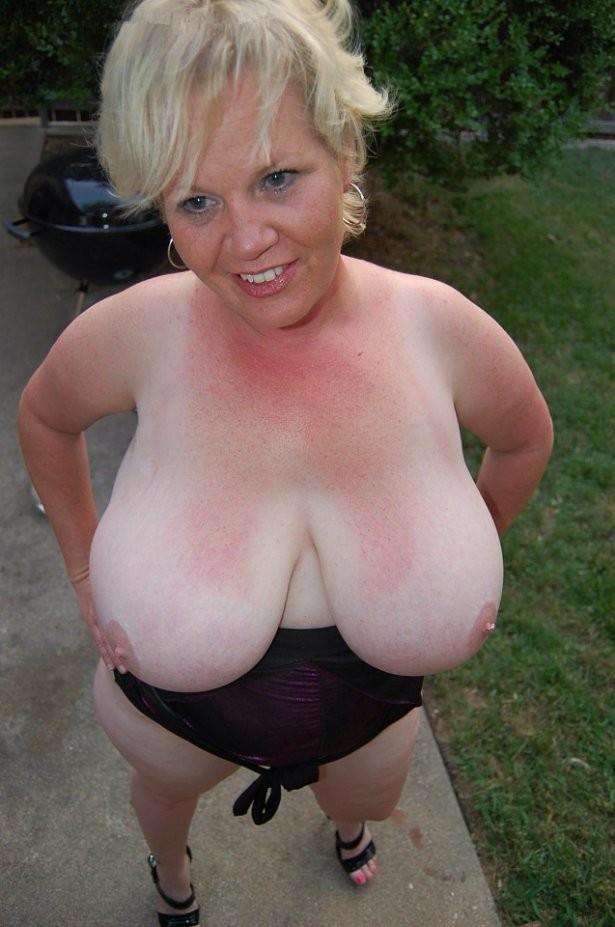 Amateur Big Tits Mature Fatties-6964